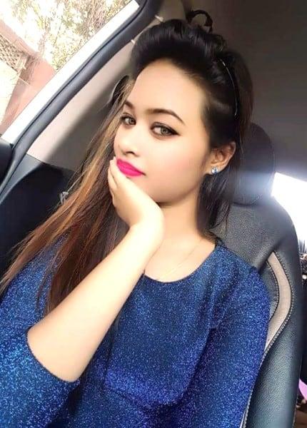 Aarati - beautiful girl sitting in car