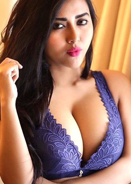 Neha shows her sexy cleavage